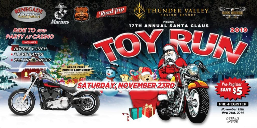 Renegade Classics Sacramento Toy Run 2019