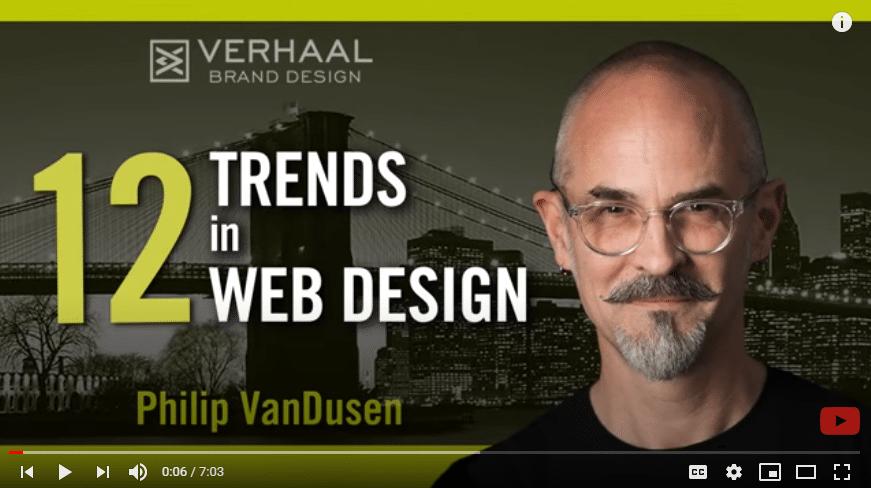 Philip VanDusen on Web Design Trends – Part I
